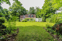 Charming house with a very large land - available now