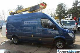 2009 Mercedes Sprinter Versalift 36NF Cherry Picker Access Platform - 13.5 metre