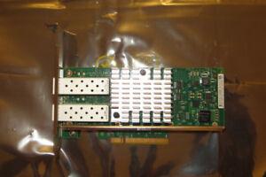 Intel X520-DA2 Dual Port 10GB  FC SFP+ NIC Network Adaptor