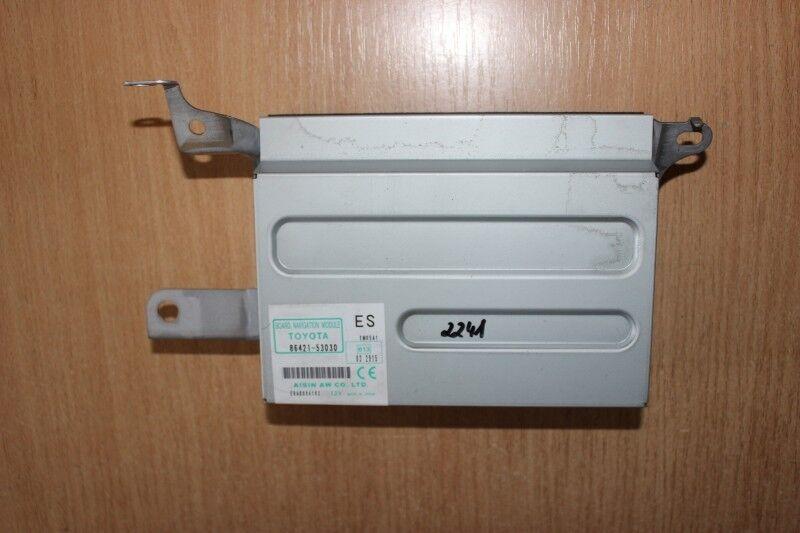 2007 LEXUS LS 460 / NAVIGATION COMPUTER DVD DRIVE 86421-53030