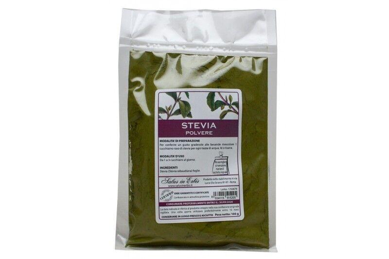 Stevia polvere 100 g - Salus in erbis -