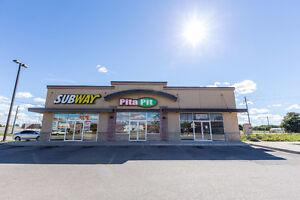UNIT FOR LEASE IN AAA PLAZA OFF 401 (A&W, SUBWAY, PITA PIT)