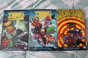 DC Comics Teen Titans Omnibus Graphic Novels Rebirth Lot