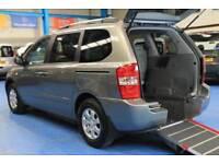 Kia Sedona 2.2CRDi auto Wheelchair car Automatic mobility accessible vehicle