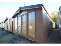 NEW Sunrise Lodge Deluxe | Mobile Home Log Cabin | Annexe Solution | Garden Home