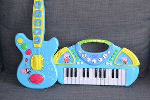 Peppa Pig Guitar and Keyboard Combo