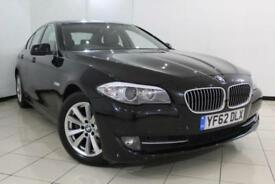 2012 62 BMW 5 SERIES 2.0 520D SE 4DR AUTOMATIC 181 BHP DIESEL