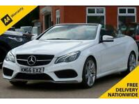 2016 Mercedes-Benz E-CLASS 2.1 E 220 D AMG LINE EDITION 2d 174 BHP Convertible D