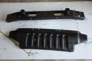 Jeep JK front bumper support and Splash pan