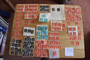 British Stamps - Queen Elizabeth II Definitives - 160+ Stamps Kitchener / Waterloo Kitchener Area image 1