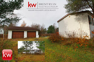 Home on Private 1.4 Acre lot in Lower coverdale with dble garage