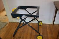 Mitre Saw Stand - Folding - Mastercraft - $30 - NEW UNUSED.