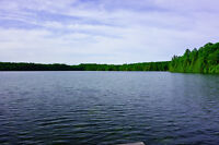 Peace and Serenity on Pristine White Lake