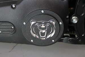 """Grizzly"" Custom  Harley Davidson Derby Cover"