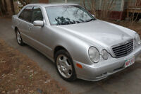 2001 Mercedes-Benz E-Class E430 4matic Sedan
