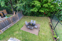 Patio Set with BBQ