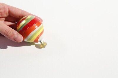 Schwungrad-Kreisel Ballon (Historisches Blechspielzeug, Tin Toy)