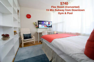 LUXURY ROOMS, HIGHRISE APARTMENTS, ALL INCLUDED, FULLY FURNISHED