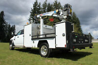 2011 Dodge 5500 SLT 4x4 Crew Cab Mechanics / Welder Truck