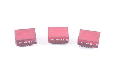 2 X Lichtschacht Siebensegment Anzeige Wf Vqb 16 E X6 Rot