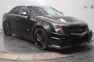 2012 Cadillac Berline Ctsv 6.2L SUPERCHARGED CUIR/SUEDE TOIT PAN