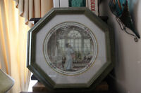 Trisha Romance Collector Porcelain Plate-Framed and Numbered