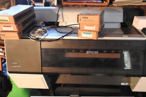 Printer.  Epson 7900- 24 inch large format with stand