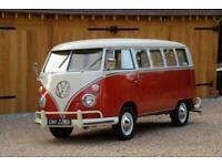 1964 VW Split Screen '13 Window Deluxe' Camper Van. Californian Import. £POA