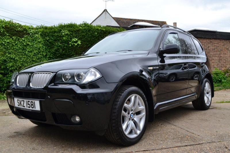 2006 bmw x3 3 0 sd m sport automatic black estate diesel in hartley kent gumtree. Black Bedroom Furniture Sets. Home Design Ideas