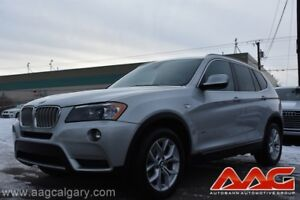2012 BMW X3 X-DRIVE ONLY 74,000KM