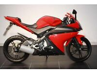 2009 09 YAMAHA YZF-R125 RED!