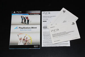 PS3-PS MOVE-MANUEL SEUL./MANUAL ONLY (COMPLETE YOUR GAME)