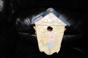 BIRD HOUSE - HAND MADE MOSAICS