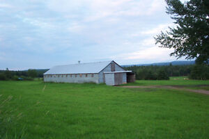 Land and Barn for sale