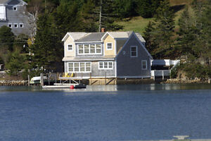 DELIGHTFUL WATERFRONT 2BR/2BA HOME IN CHESTER'S BACK HARBOUR