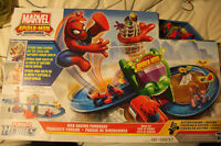 Marvel Spider Man Adventure - Web racing funhouse
