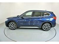 2017 BLUE BMW X1 2.0 SDRIVE18D XDRIVE MANUAL DIESEL CAR FINANCE FR £241 PCM