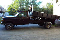 1995 FORD F350 DUALLY DUMP TRUCK