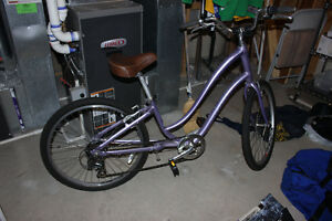 Ladies purple Cruising Bike   TREK