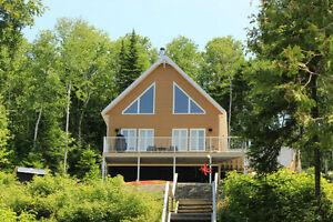 Chalet à louer Lac Pointu St-Narcisse - Rimouski -Bas-St-Laurent