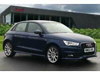2016 Audi A1 Sportback S line 1.4 TFSI 125 PS 6-speed Hatchback Petrol Manual