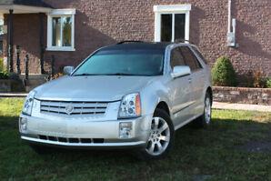 CADILLAC SRX4 2007,  cuir gris intérieur 141 000 KLMS, V6 3.6L,