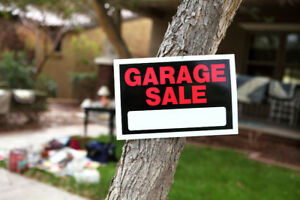 STREET GARAGE SALE - MULTIPLE HOMES!!