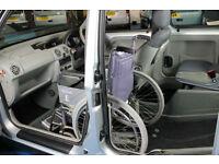 Renault Kangoo auto Expression Wheelchair Next to driver, upfront passenger car