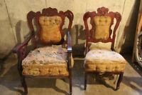 4 piece Antique Settee set