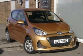 2017 Hyundai i10 1.0 SE Petrol orange Manual