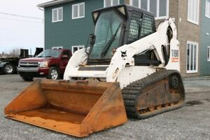 2009 Bobcat T190 Compact Skid Steer Track Loader - 2,980 hours