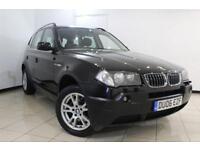 2006 06 BMW X3 3.0 D SE 5DR AUTOMATIC 215 BHP DIESEL