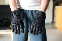 BRAND NEW -Large  Summer Leather Riding Gloves $30