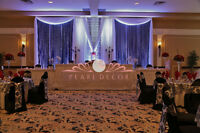 Backdrop Creations and Rentals for your Wedding or Party!